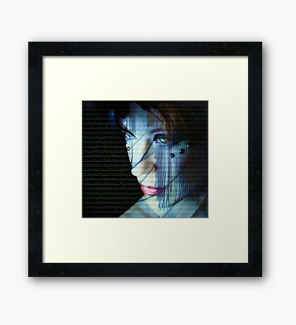 Binary Encoding I Framed Print