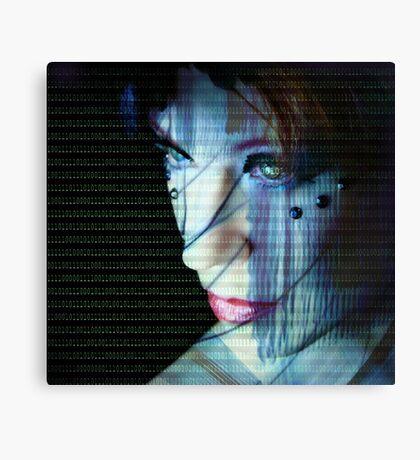 Binary Encoding I Canvas Print