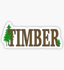 TIMBER Sticker