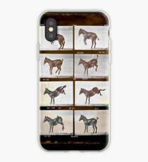 Muybridge Donkey iPhone Case