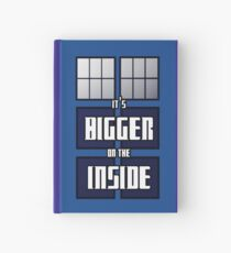 It's Bigger on the Inside Hardcover Journal