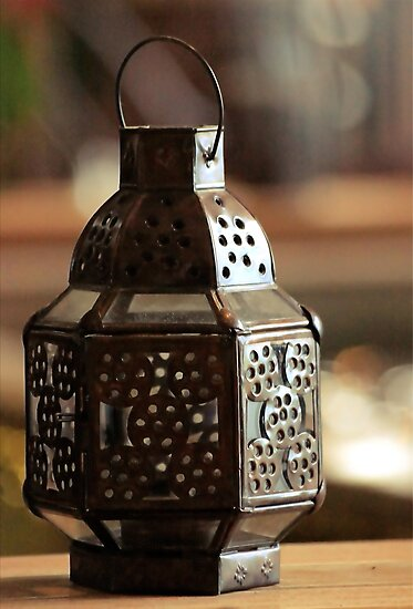 Ancient Lamp by Louis Delos Angeles