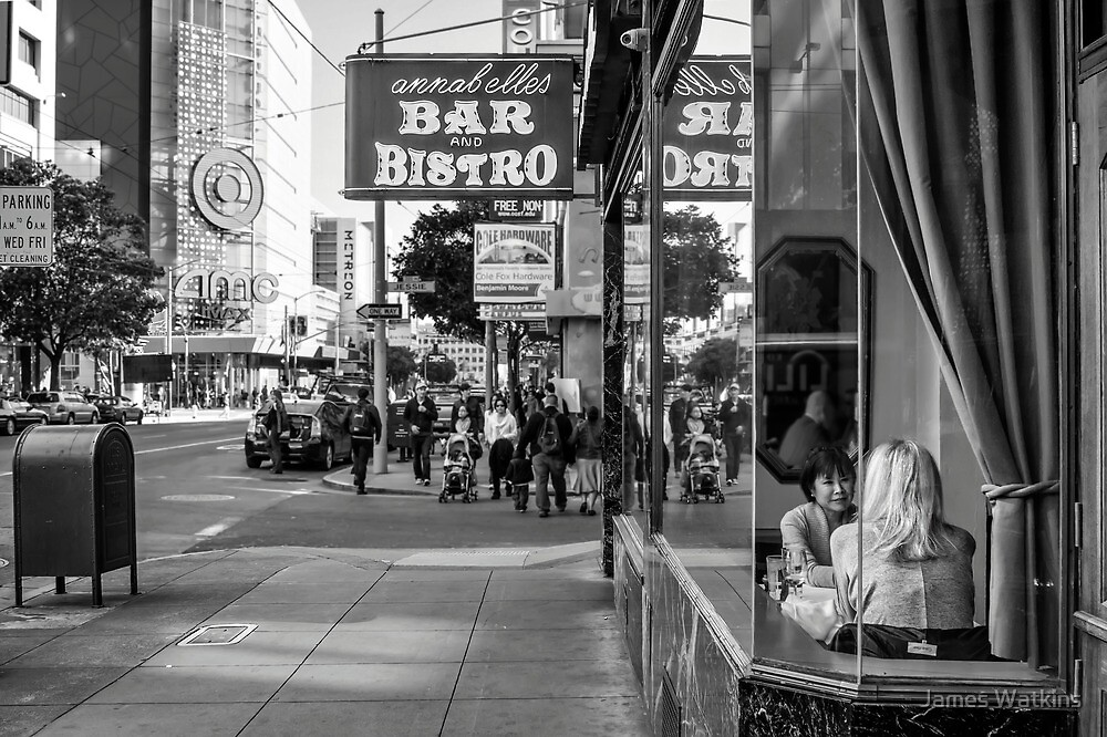 A Conversation on Fourth Street by James Watkins