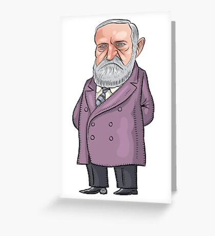 President Benjamin Harrison Greeting Card
