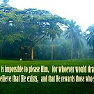 Hebrews 11:6 by mariatheresa