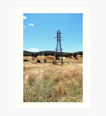 Myrtleford Art Print