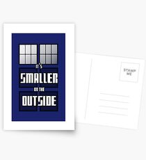 It's Smaller on the Outside Postcards