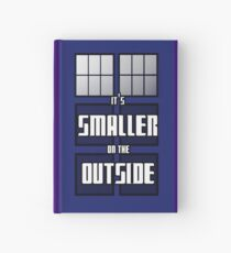 It's Smaller on the Outside Hardcover Journal