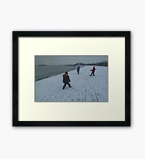 Unexpected. Framed Print
