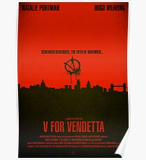"Movie Poster - ""V for VENDETTA"" Poster"