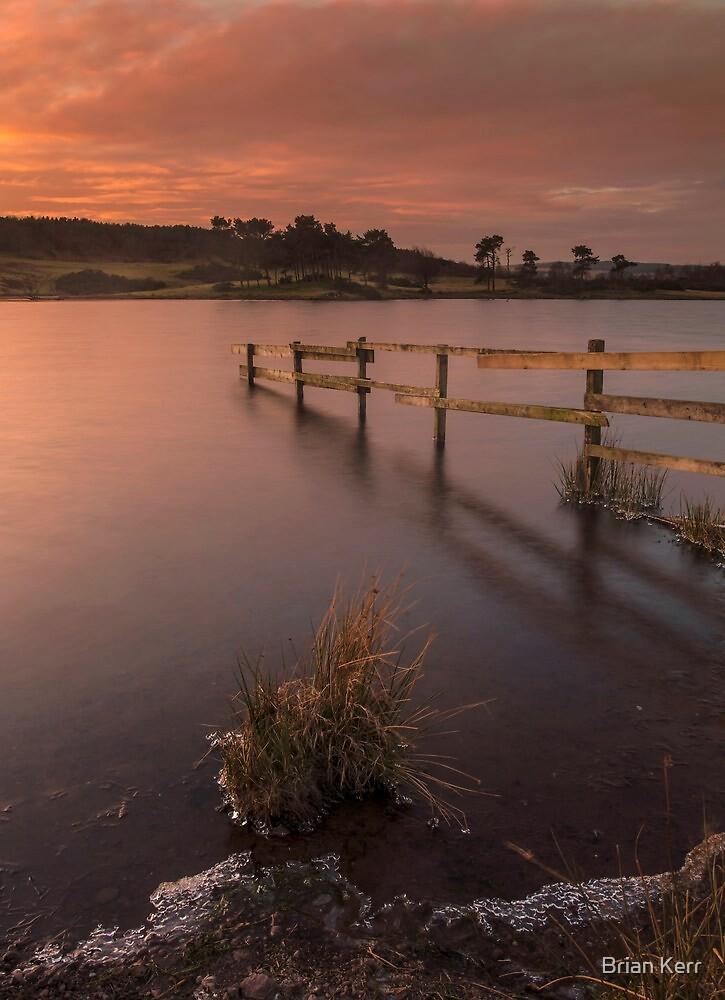 Frozen Sunrise on Knapps Loch by Brian Kerr