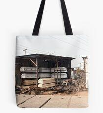 Street Shops Lagos 6 Tote Bag