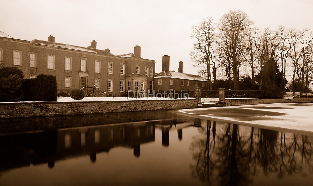 Dunham Hall in Winter by DMHotchin