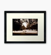 Dunham Gardens Framed Print