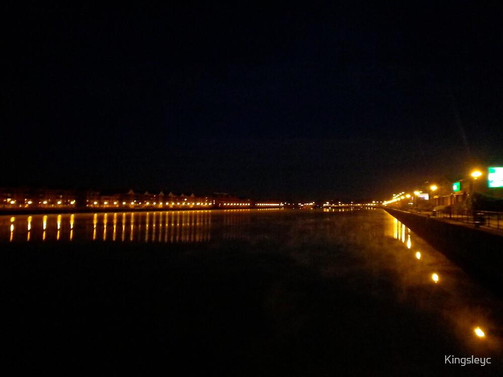 Preston Dock Cold Morning by Kingsleyc