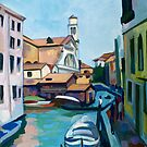 Shipyard in Venice by Filip Mihail