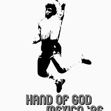 Maradona - Hand of God by givemeone