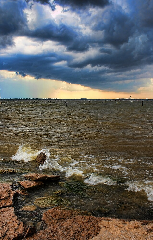 Crazy Clouds And Wild Water by Carolyn  Fletcher