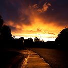 Gutter Sunset by sandralee1989
