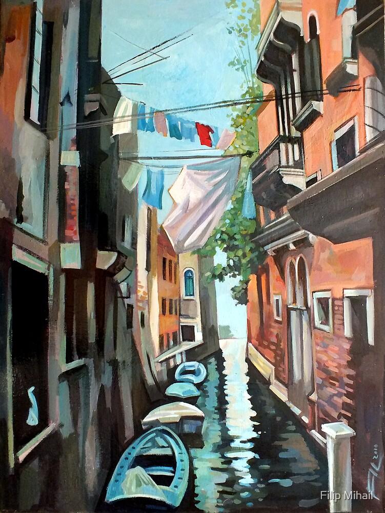 Venetian Channel by Filip Mihail