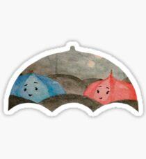 The Blue Umbrella Sticker