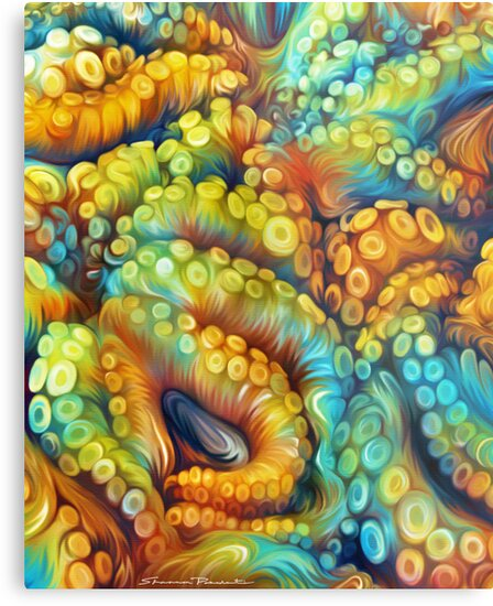 Tentacles by Shannon Posedenti