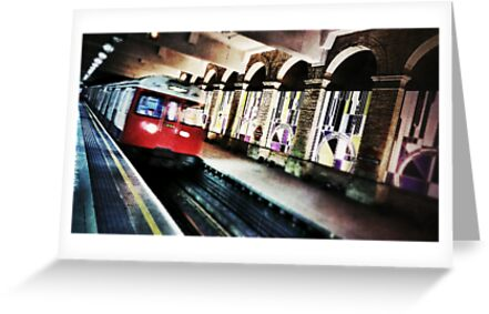 London Tube Train by Scott Anderson