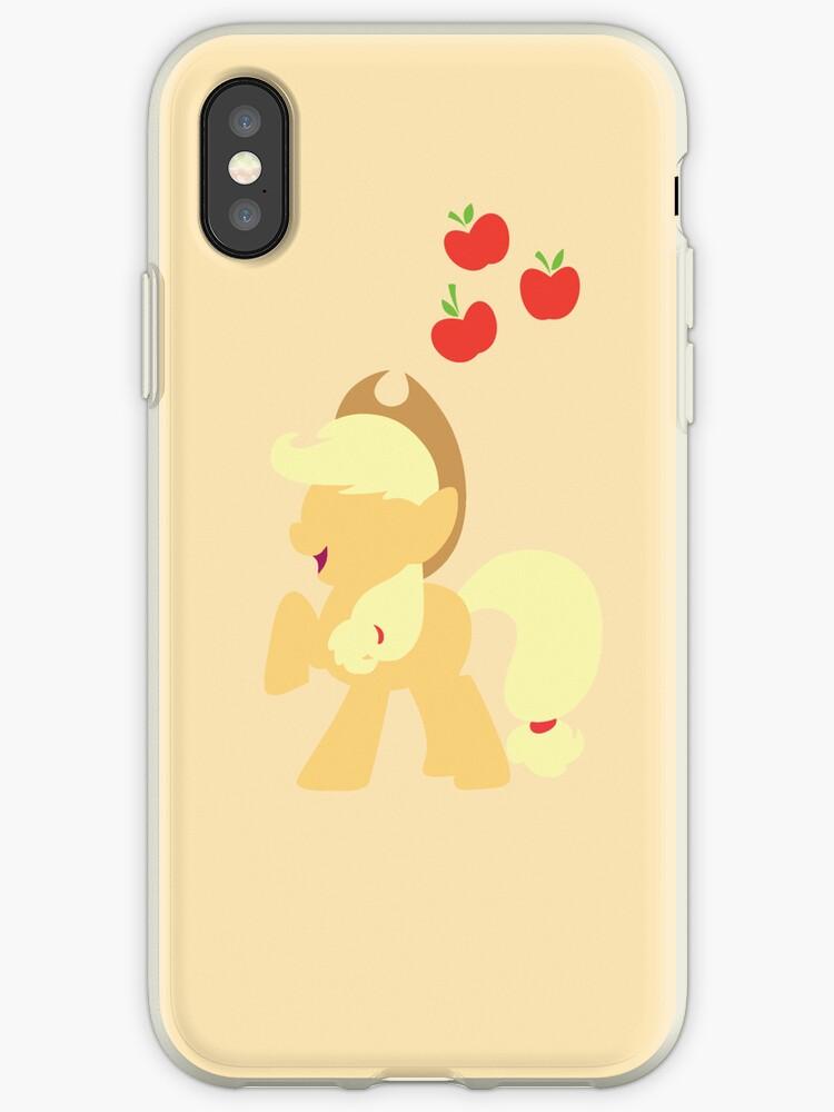 Simple Applejack iPhone/iPad Case by TehCrimzonColt