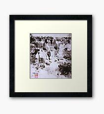 Canyon Flight 2 - Canyon de Chelly Framed Print
