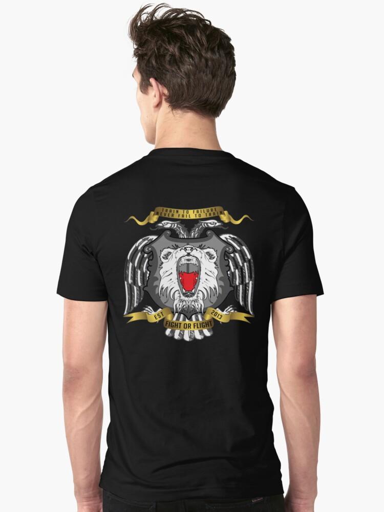 Fight Or Flight Gym Wear Lions Logo by fightorflight