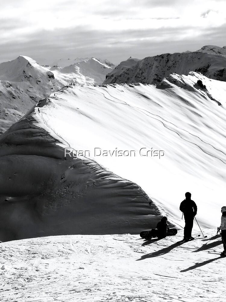 Hiking for Lines by Ryan Davison Crisp