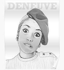 Catherine Deneuve Poster