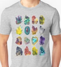 Crystals Unisex T-Shirt