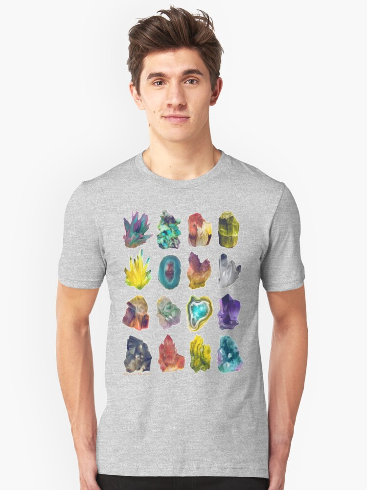 Crystals Unisex T-Shirt Front
