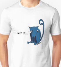 "Blue Kitty - ""Lost it...."" Unisex T-Shirt"