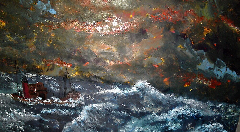 The Battle of the Ship Sea and Sky by Joe Scotland