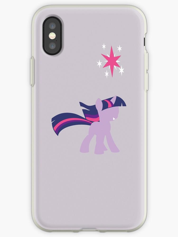 Simple Twilight Sparkle iPhone Case by TehCrimzonColt