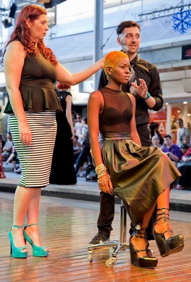 School of Brisbane hairdressing  by Mirene Igwabi