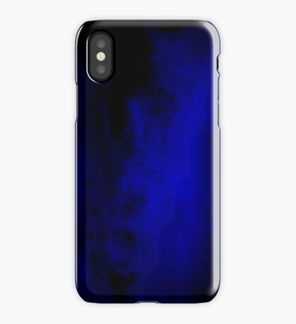 Clouds turned blue iPhone Case