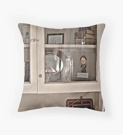 Lizzie Borden's Books Throw Pillow