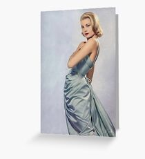 Grace Kelly- Queen of Grace Greeting Card