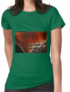 Old Meteor Womens Fitted T-Shirt