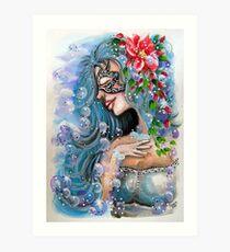 Fantasy Girl Art Print