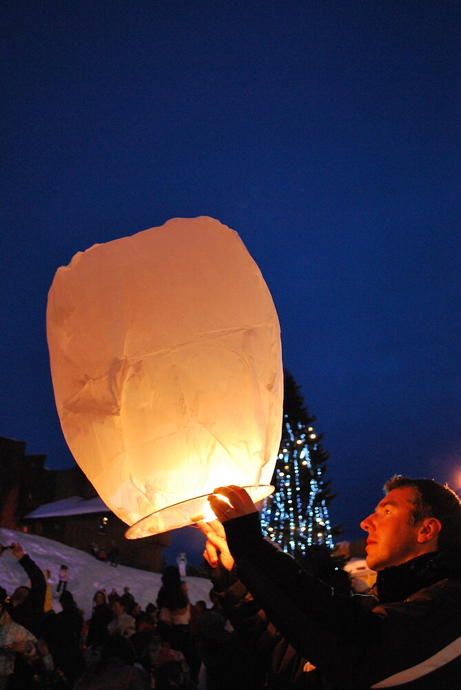 Chinese lanterns by feef