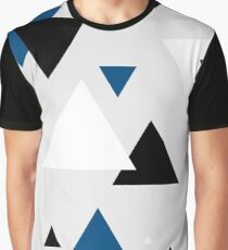 Triangle Blue - 2 Graphic T-Shirt