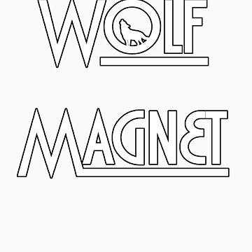 Wolf Magnet by FlyingSolo