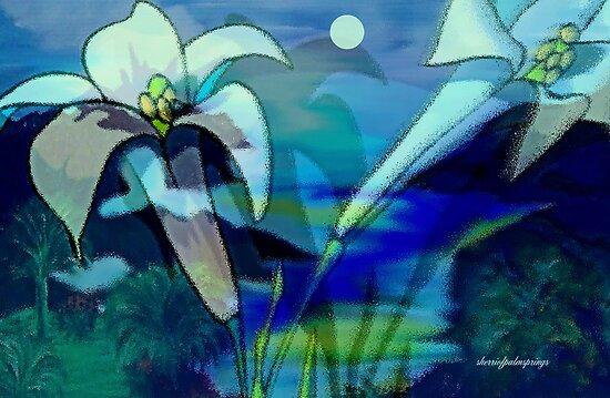 DANCING WITH THE MOON by SherriOfPalmSprings Sherri Nicholas-