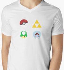 Nintendo FTW Men's V-Neck T-Shirt