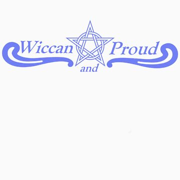 Wiccan and Proud Pentacle by AyaHawkeye