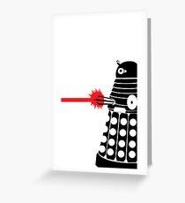 Dalek Illo Greeting Card